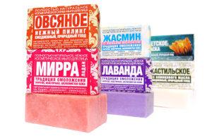 Косметические мыла для лица (твёрдые очищающие маски)